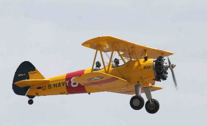 Stearman Flight